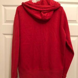 Polo zip-up sweatshirt